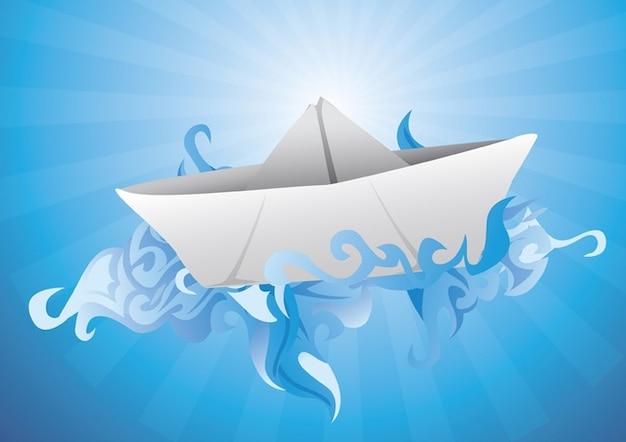 Navio de papel