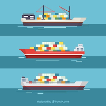 Navios porta-contentores