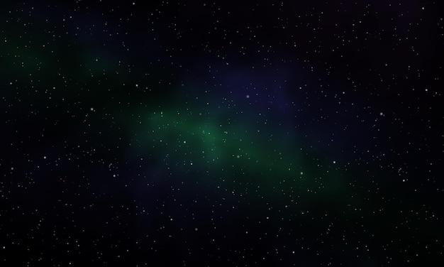 Nebulosa da noite estrelada do universo infinito realista brilhando poeira estelar vetor mágico do fundo da galáxia