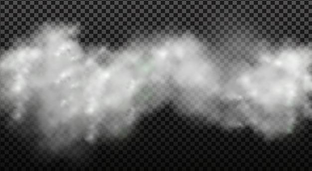 Nebulosidade branca, nevoeiro ou fumaça