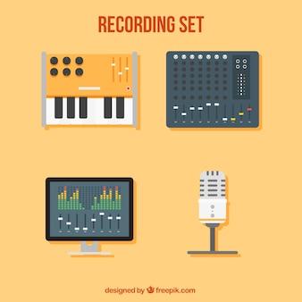 Necessária para equipamento de estúdio de música