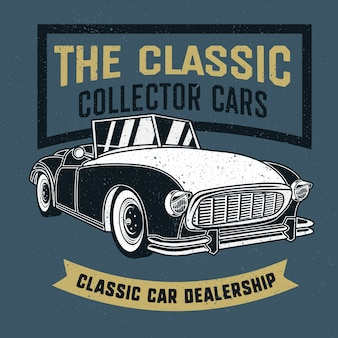 Negociante de carros clássicos