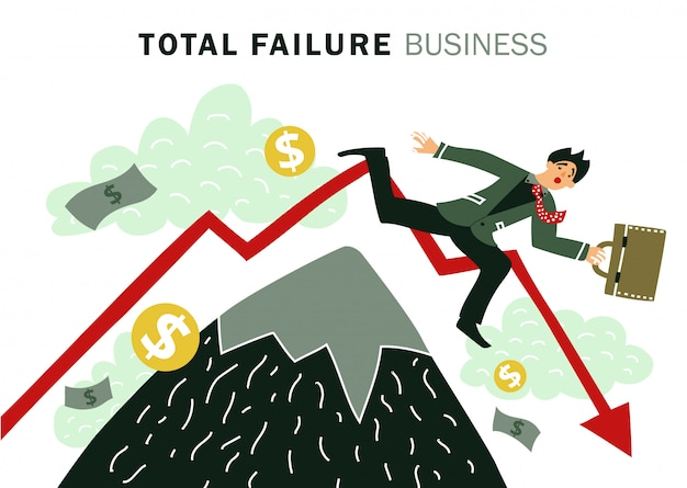 Negócio de falha