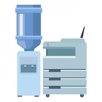 Negócio de impressoras de tecnologia