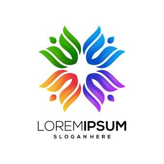 Negócio de logotipo de natureza