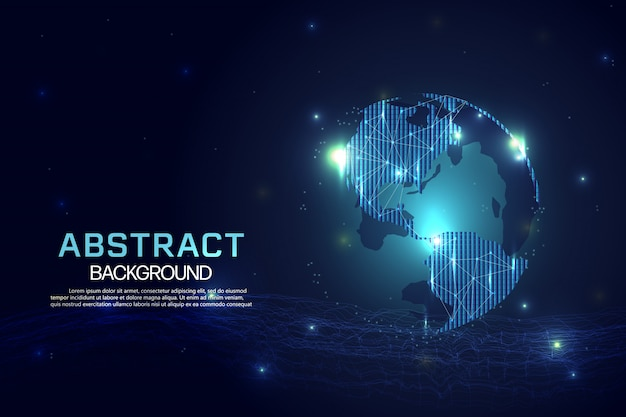 Negócio de tecnologia de rede