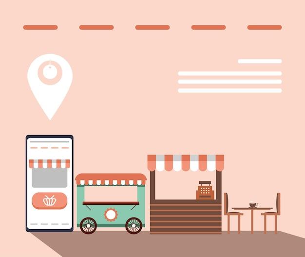 Negócio móvel de aplicativos