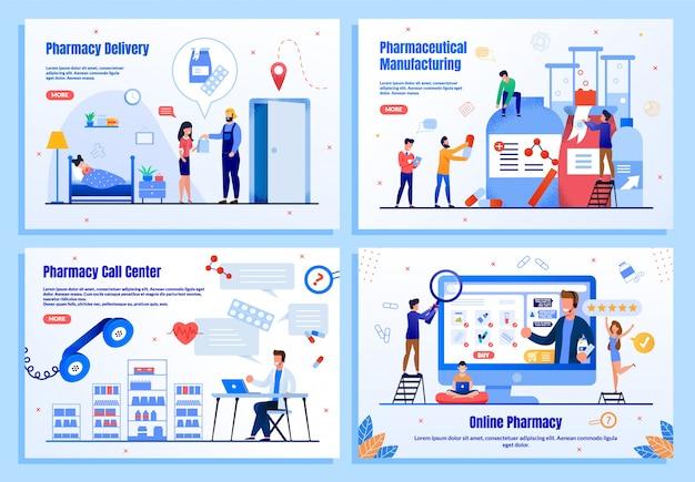 Negócio online farmacêutico