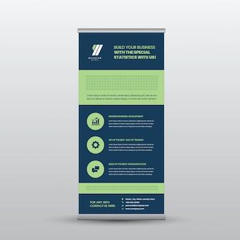 Negócios corporativos arregaçar Banner Design
