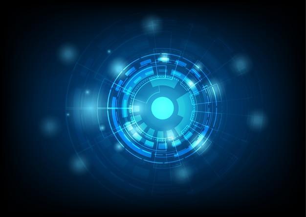 Negócios digitais de tecnologia usando como pano de fundo