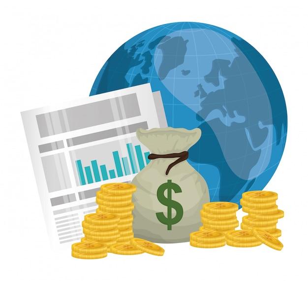 Negócios, dinheiro e economia global