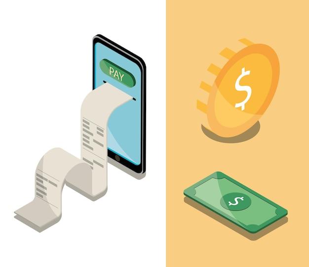 Negócios financeiros de pagamento