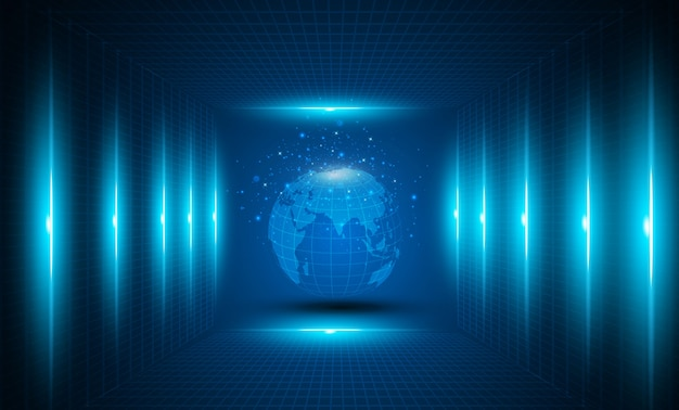 Negócios globais da série de conceitos.