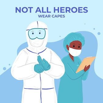 Nem todos os heróis usam capas com letras