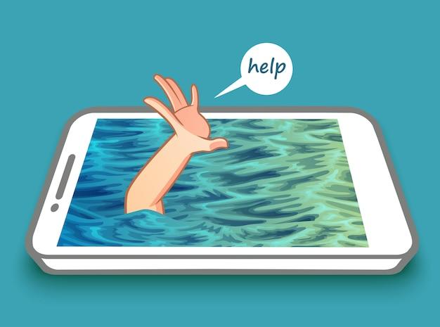 Nenhuma fobia de celular.