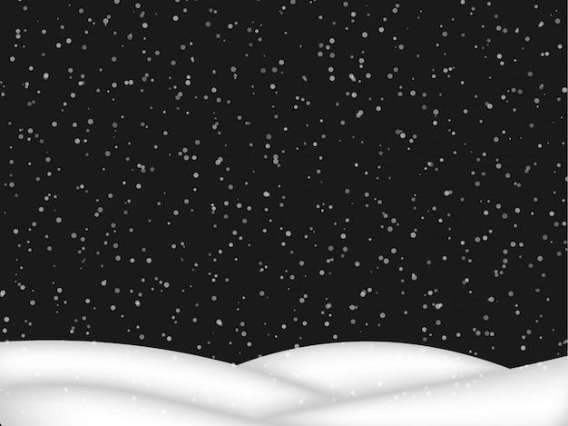 Neve caíndo