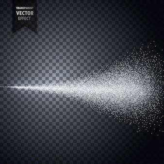 Nevoeiro de pulverização de água do vetor atomizador transparente