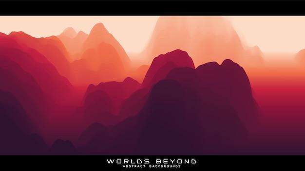 Nevoeiro sobre montanhas