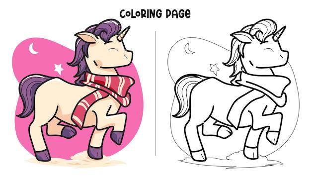 New scarf unicorn