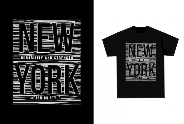 New york city - camiseta gráfica para impressão