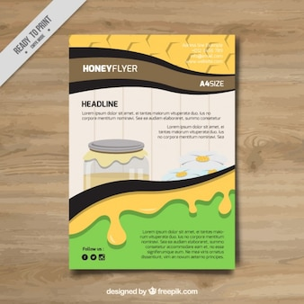 Nice artigos de papelaria para o mel