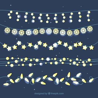 Nice conjunto de luzes de natal