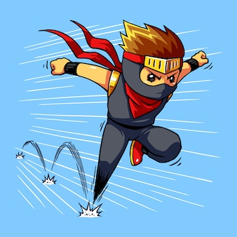 Ninja boy quick dash.
