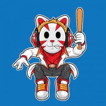 Ninja de gato urbano