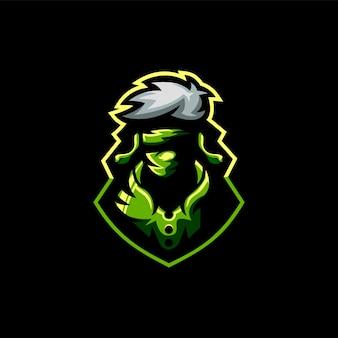 Ninja esports design de logotipo