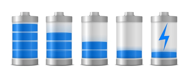 Nível de energia de carga total da bateria