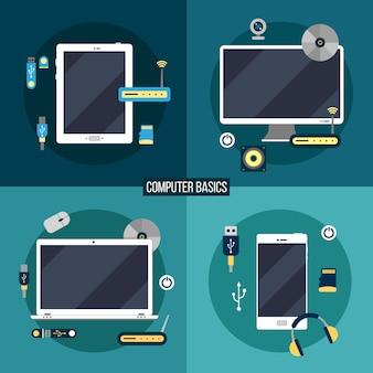 Noções básicas de computação e eletrônica