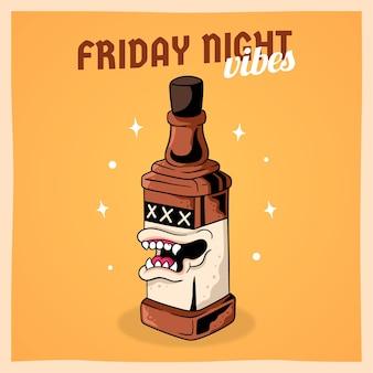 Noite de sexta-feira
