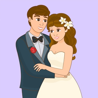 Noiva e noivo