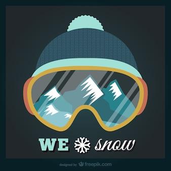 Nós adoramos neve