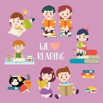Nós amamos ler