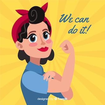 Nós podemos fazer isso! fundo