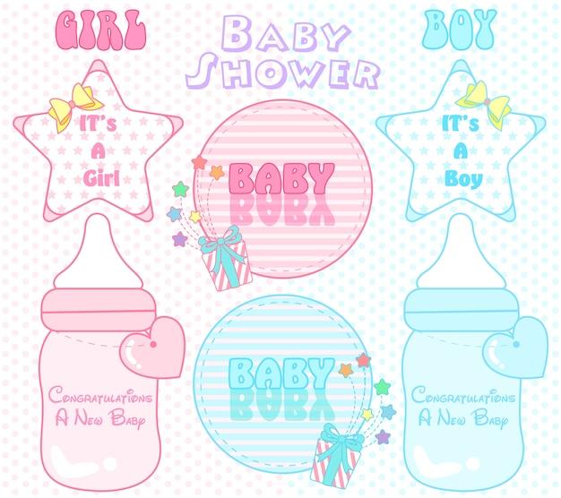 Nota bonito parabéns bebê