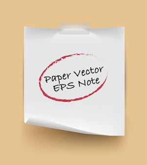 Nota de papel isolada com texto de saquê no fundo