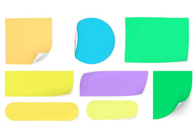 Notas auto-adesivas de papel