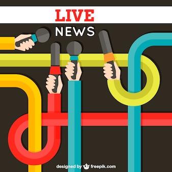 Notícias ao vivo