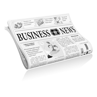 Notícias de negócios de jornais