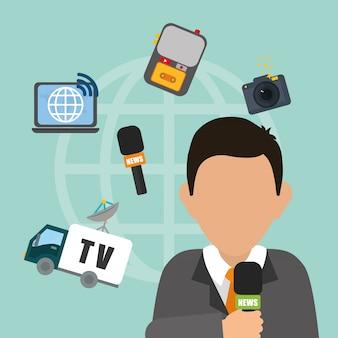 Notícias e transmissão de notícias