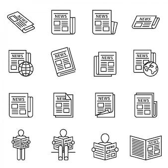 Notícias publicadas, jornal