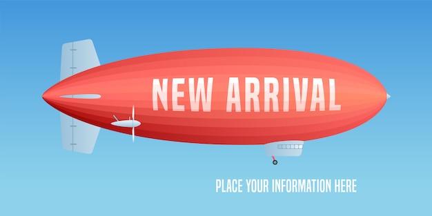 Nova chegada, banner