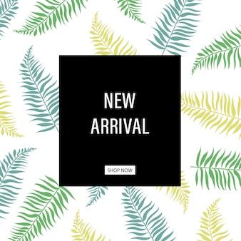 Nova coleção pôster