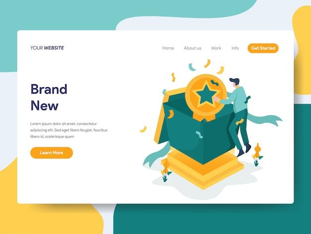 Nova marca para a página do site