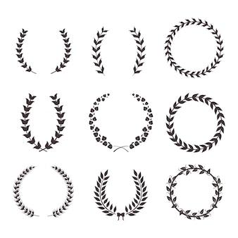 Nove coroas de louros