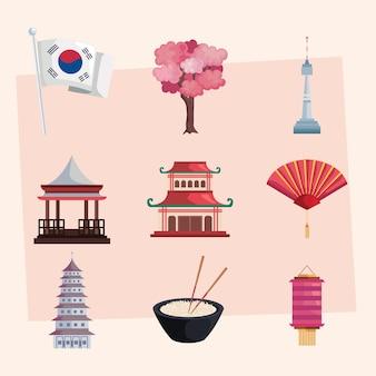 Nove ícones da cultura coreana