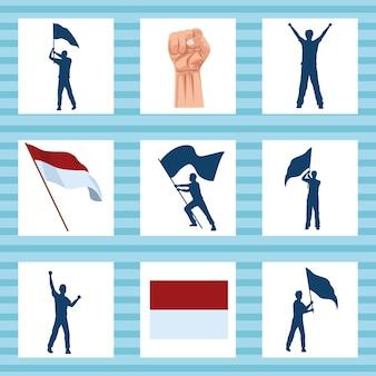 Nove ícones merdeka