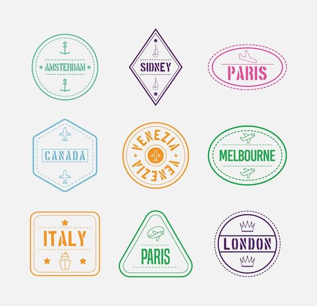 Nove selos internacionais